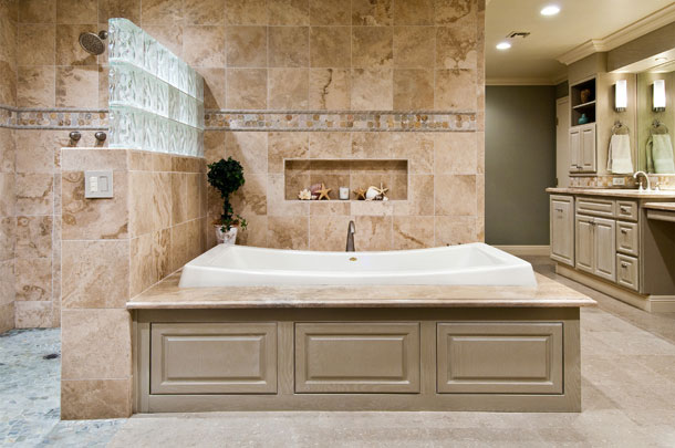 Design insite master bathroom remodel for Master bath pictures