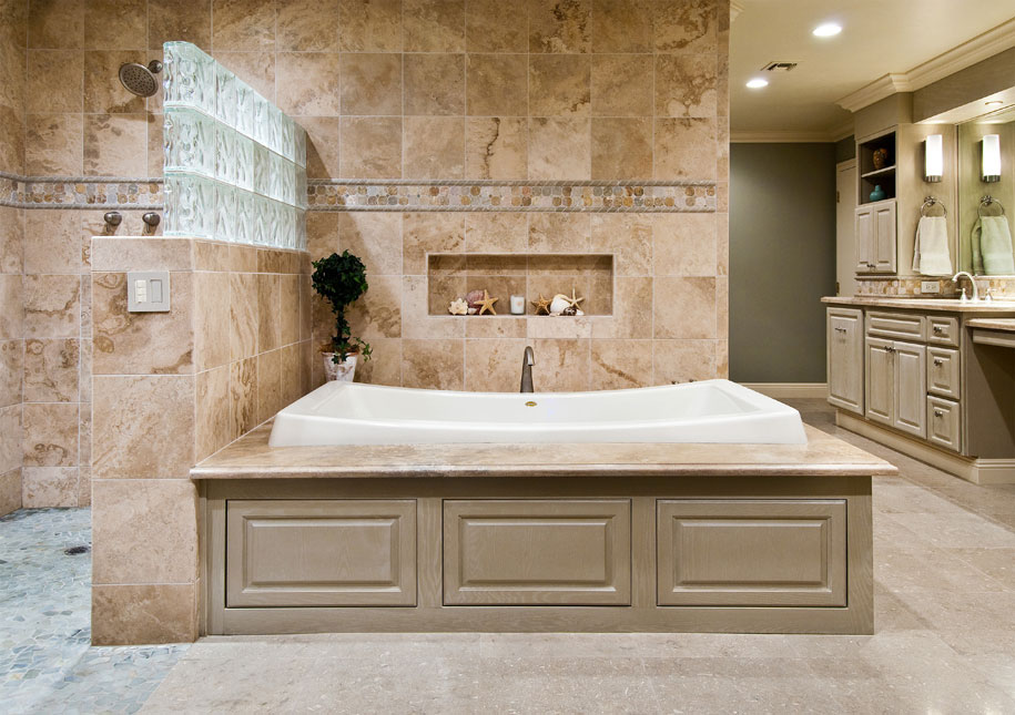 Design insite master bathroom remodel for Bathroom tile designs 2012