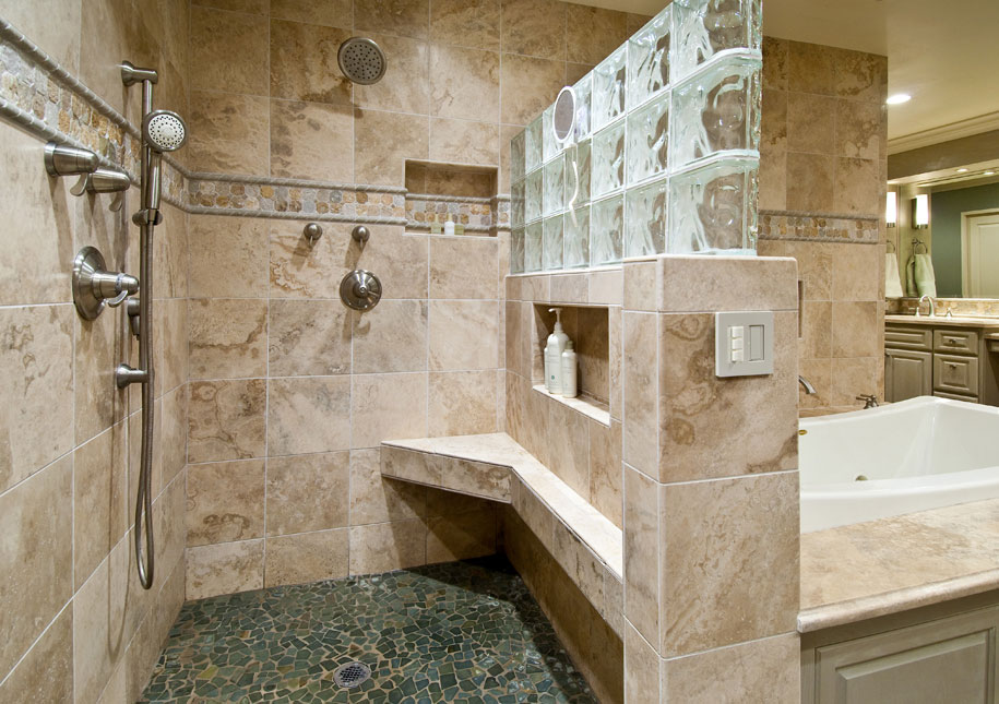Design insite master bathroom remodel for Large master bathroom